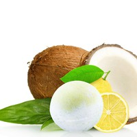 Tropical Coconut Bath Ball