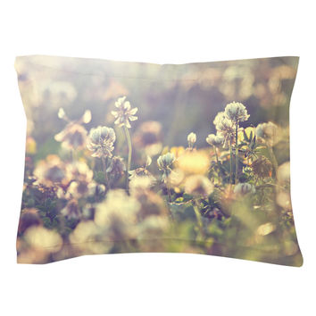 Field Of Wildflowers Pillow Shams