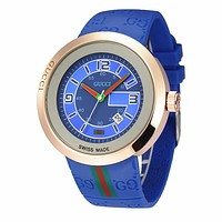 GUCCI Ladies Men Watch Little Ltaly Stylish Watch F-PS-XSDZBSH  Blue,