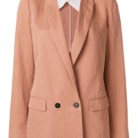 Forte Forte straight-fit Blazer - Farfetch