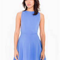 Ponte Sleeveless Skater Dress | American Apparel