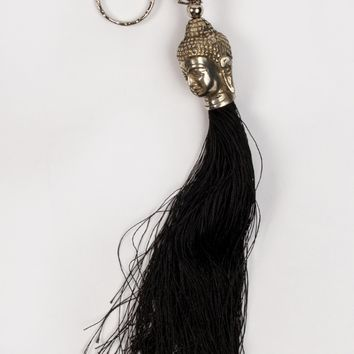 Buddha Keychain in Black by Z&L - ShopKitson.com