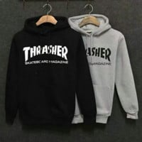 Unisex THRASHER Hoodies Sweatshirts
