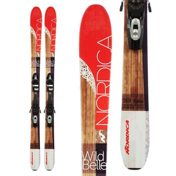 NORDICAWILD BELLE SKIS + TYROLIA SYMPRO 10 BINDINGS - WOMEN'S 2016 - USED