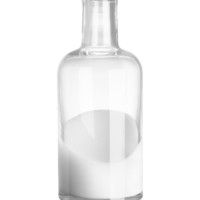 H&M - Glass Vase - Clear glass