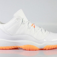 Air Jordan 11 XI Low Retro GS Grade School Citrus 2015