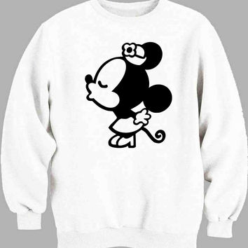 Mickey minnie couple women Sweater for Mens Sweater and Womens Sweater ***