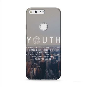Troye Sivan Youth Lyrics Google Pixel XL 2 Case