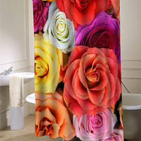 flower rose Shower Curtain