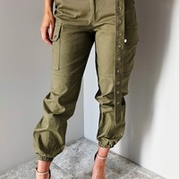 Leave Your Mark Pants: Olive