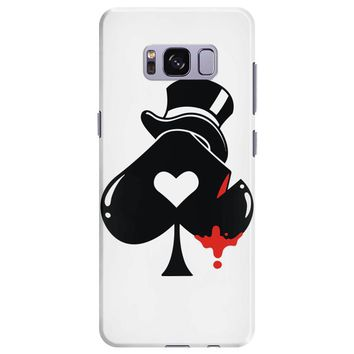 poker hat ace of spades Samsung Galaxy S8 Plus
