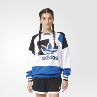 adidas Running Baggy Sweater - White | adidas US