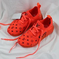 One-nice™ Adidas NMD x LV x Supreme Fashion Breathable Running Sport Shoes Sneakers Shoes