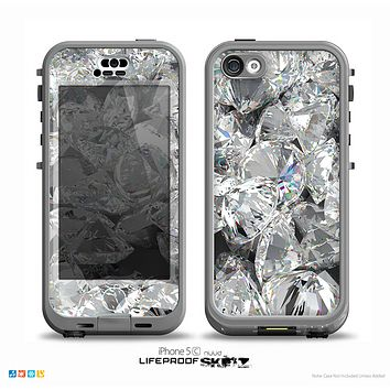 The Scattered Diamonds Skin for the iPhone 5c nüüd LifeProof Case