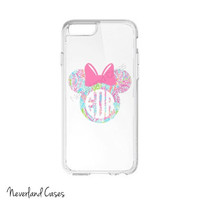 Monogram Phone Case iPhone 6 5 5s 4 Custom Phone Case Mouse Silhouette