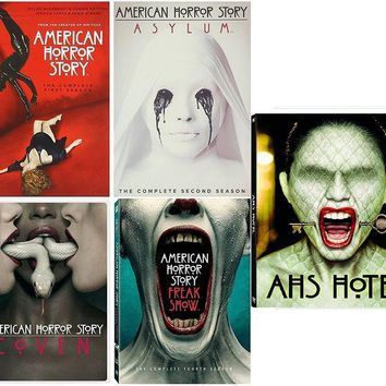 DCCK2JE American Horror Story : Complete Collection, DVD (Series Seasons 1-5, 1,2,3,4,5 Bundle) USA Format Region 1
