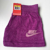 "NIKE "" Like Fashion Print Exercise Fitness Gym Yoga Running Shorts"