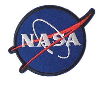 1pc NASA Sew on patch iron on patch appliques