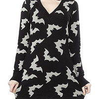 Attack of the Bats Sweater Dress