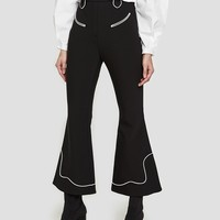 Ellery / Rogers Piped Crop Flare