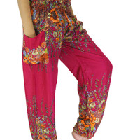 Hippie pants / Boho pants one size fits