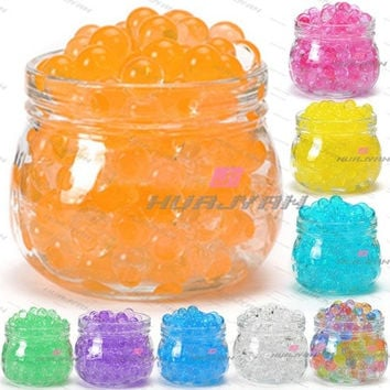 50g Magic Water Jelly Mud Soil Beads Balls Crystal Pearls Balls Wedding Flower [7983480071]