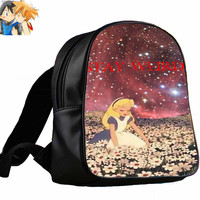 Stay Weird Alice in Wonderland Nebula cd2633b7-7f5d-4665-a78d-77a884728466   for Backpack / Custom Bag / School Bag / Children Bag / Custom School Bag