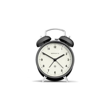Charlie Bell Alarm Clock in Black design by Newgate – BURKE DECOR