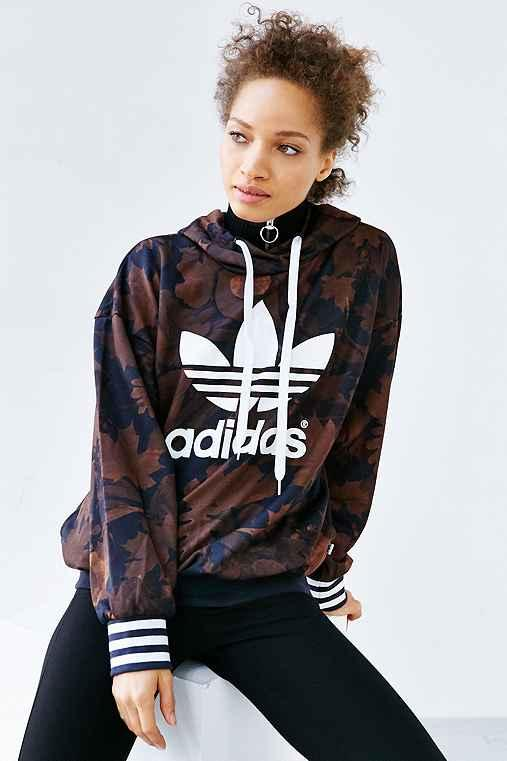 adidas Originals Leaf Camo Hoodie from Urban Outfitters  52cf0167ef7