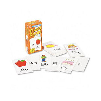Alphabet Flash Cards w/Round Corners Two-Sided