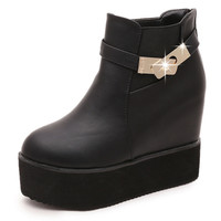 Creepers Platform Ankle Boots