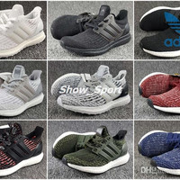 Adidas Ultra Boost 3.0 Triple Black White Primeknit Oreo CNY Blue Men Women Running Shoes Original Ultra Boosts ultraboost Casual Sneaker