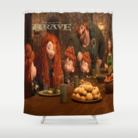 Brave Shower Curtain by Store2u