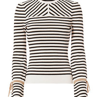 Exclusive for Intermix Victoria Lurex Stripe Knit - INTERMIX®