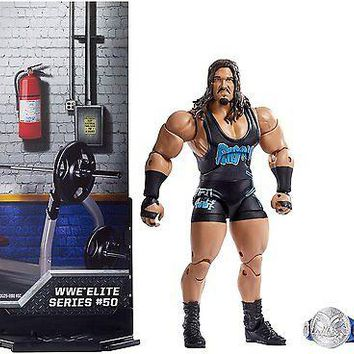 WWE Rhyno Action Figure Elite 50 Mattel Toy NEW