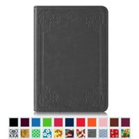 Fintie Kindle Paperwhite Folio Case - The Book Style PU Leather Cover for All-New Amazon Kindle Paperwhite (Fits All versions: 2012, 2013, 2014 and 2015 New 300 PPI), Vintage Antique Bronze