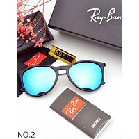 RAYBAN men's and women's fashion showy sunglasses
