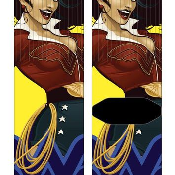 Wonder Woman Bombshell Crew Sock