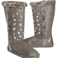 Tall Jeweled Cozy Boots