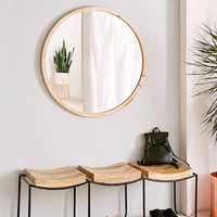 Tri-Seat Mango Wood Bench | Urban Outfitters