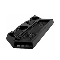 Cooling Station Vertical Stand with 2 Controller Charging Dock for ps4-Newegg.com