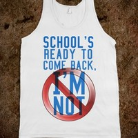 BACK TO SCHOOL TANK
