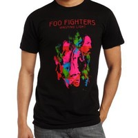 FEA Merchandising Men's Foo Fighters Album Art Slim Fit Tee