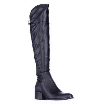 Guess Daina Over The Knee Boots, Black, 6.5 US