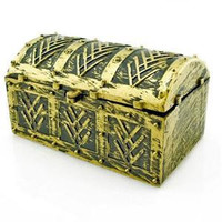 Halloween Pirate Treasure Chest Toy For Kids Party Favor Supply Children Toys Jewelry Box SM6