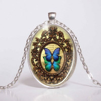 Pendant with Chain - Butterfly 4