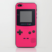 GAMEBOY Color - Pink Version iPhone & iPod Skin by Cedric S Touati | Society6