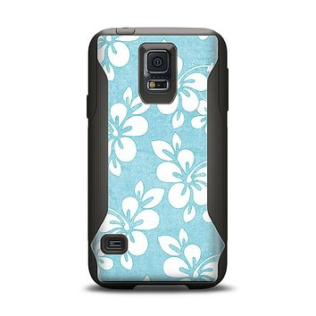 The Vintage Hawaiian Floral Samsung Galaxy S5 Otterbox Commuter Case Skin Set