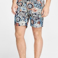 Men's ONIA 'Calder' Floral Print Swim Trunks