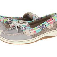 Sperry Top-Sider Angelfish 2 Eye Flamingo Floral